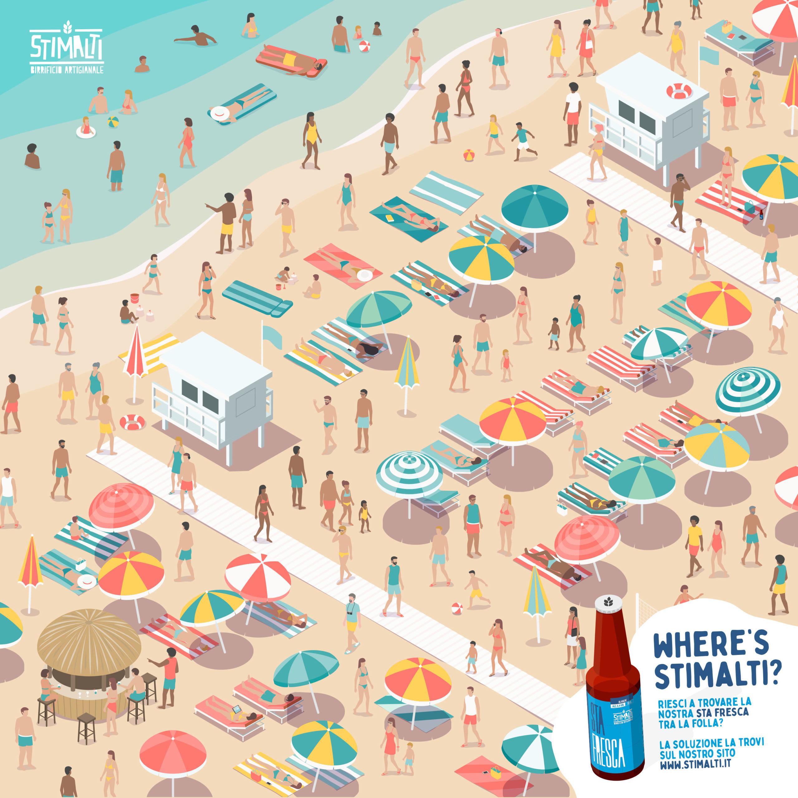 Soluzione Where's Stimalti Summer Edition!